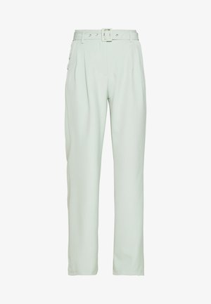 BALLOON WIDE LEG TROUSERS - Pantalon classique - mint