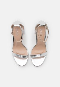 RAID - LORAINE - High heeled sandals - silver - 5