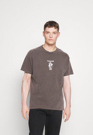 TEXAS TEE UNISEX - Print T-shirt - brown