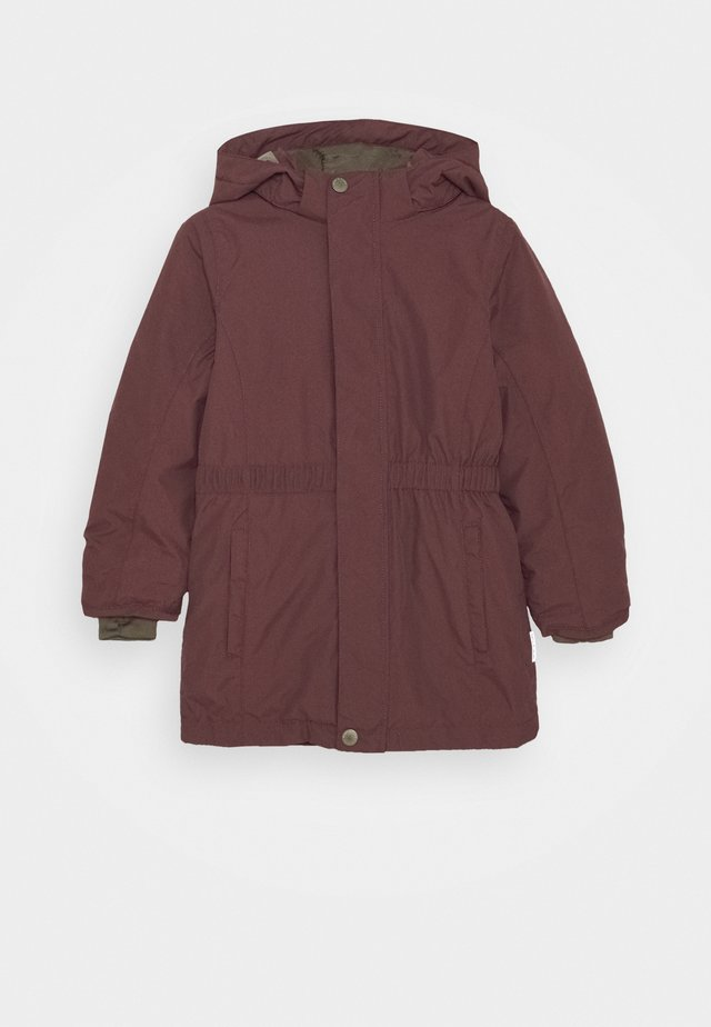 VELA JACKET - Vinterkåpe / -frakk - catawba grape