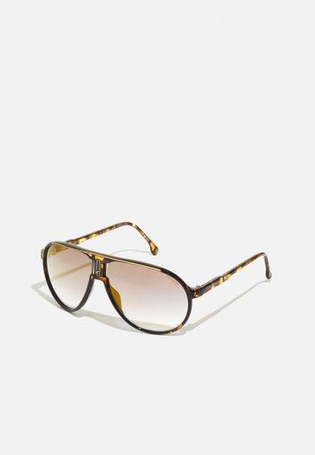UNISEX - Sunglasses - brown havana