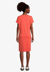Cartoon - Jersey dress - papaya orange - 1