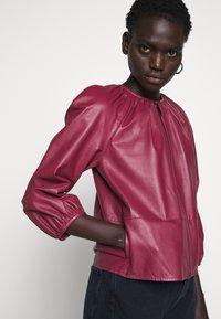 MAX&Co. - DEPONGO - Leather jacket - capnella rose - 3