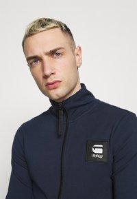 G-Star - ZIP THROUGH TRACK TWEETER - Training jacket - sartho blue - 3