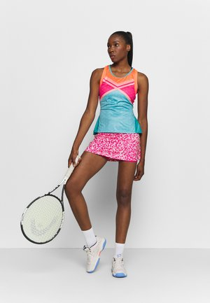 TENNIS TANK - Sports shirt - techno cyan