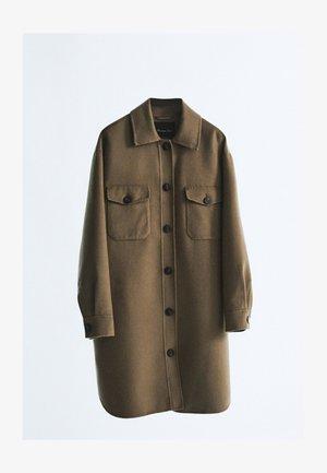 MIT TASCHEN  - Manteau classique - brown
