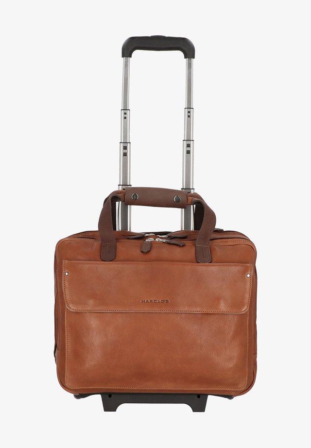Luggage - cognac/braun
