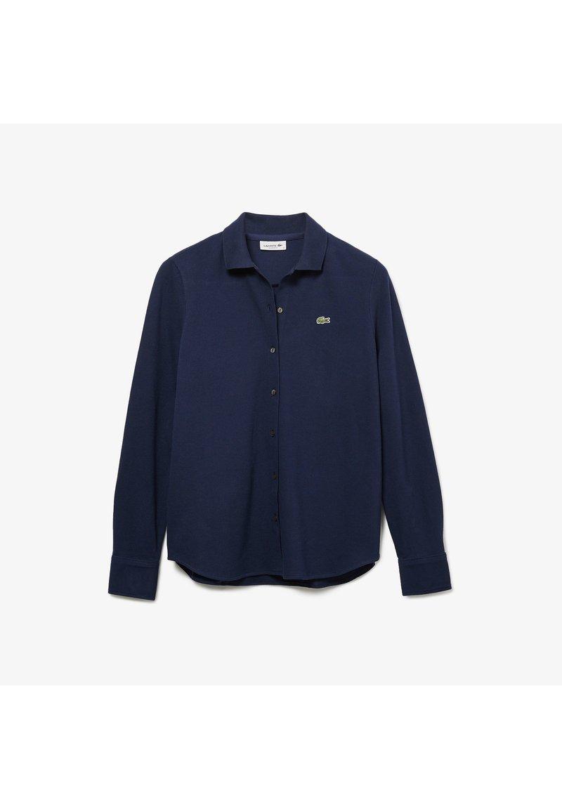 Lacoste - Button-down blouse - navy blau