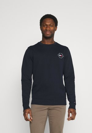 CIRCLE CHEST CORP CREWNECK - Felpa - desert sky