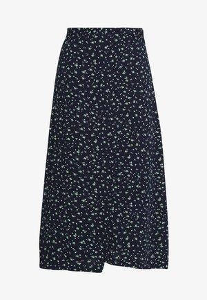 SKIRT - Zavinovací sukně - dark blue