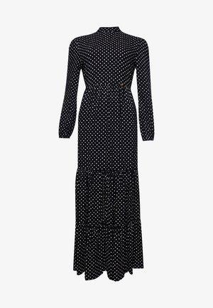 Maxi dress - black dot
