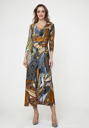 GRENADE - Maxi dress - gelb, grau