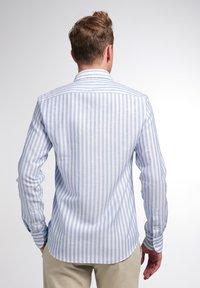 Eterna - SLIM FIT - Shirt - blau/weiß - 1