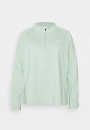 VISTA FITNESS PLUS - Long sleeved top - green