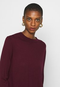 Banana Republic - EASY CREW SOLIDS - Sweter - classic burgundy - 3