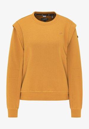 Sweatshirt - dunkelcurry