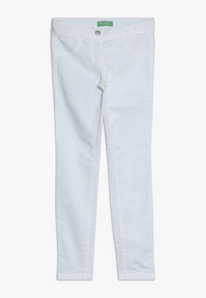 TROUSERS - Jeans Skinny Fit - white