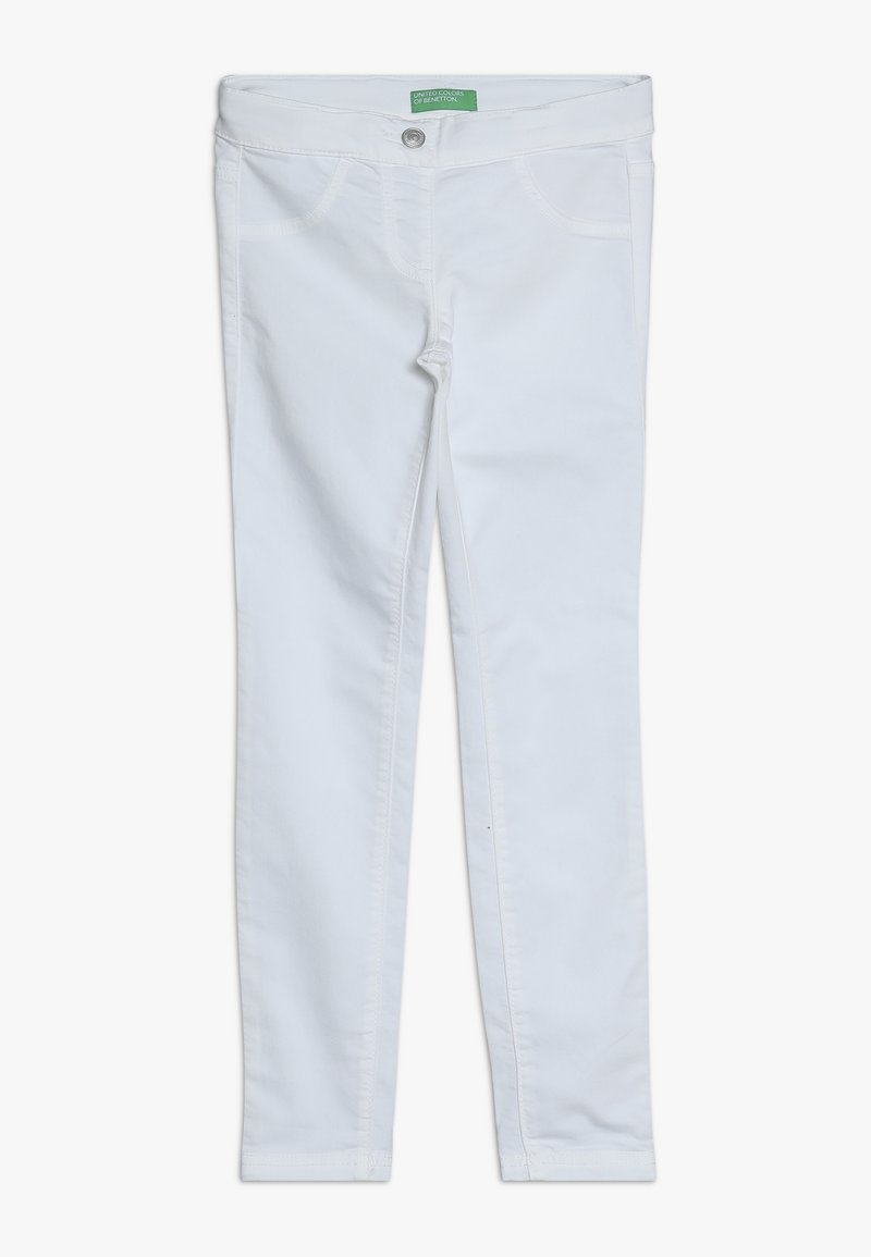 Benetton - TROUSERS - Jeans Skinny Fit - white