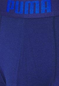 Puma - BASIC 2 PACK - Culotte - blue/grey melange - 3