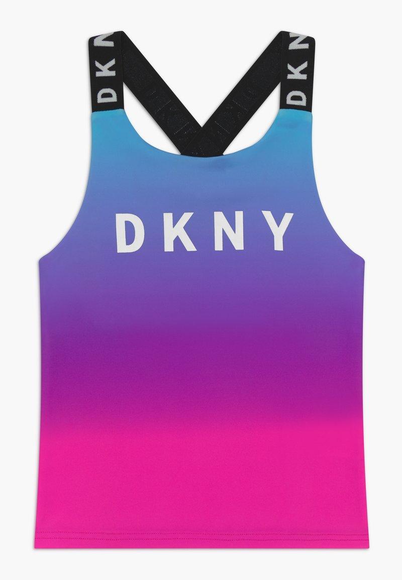 DKNY - TANK  - Top - pink/blue