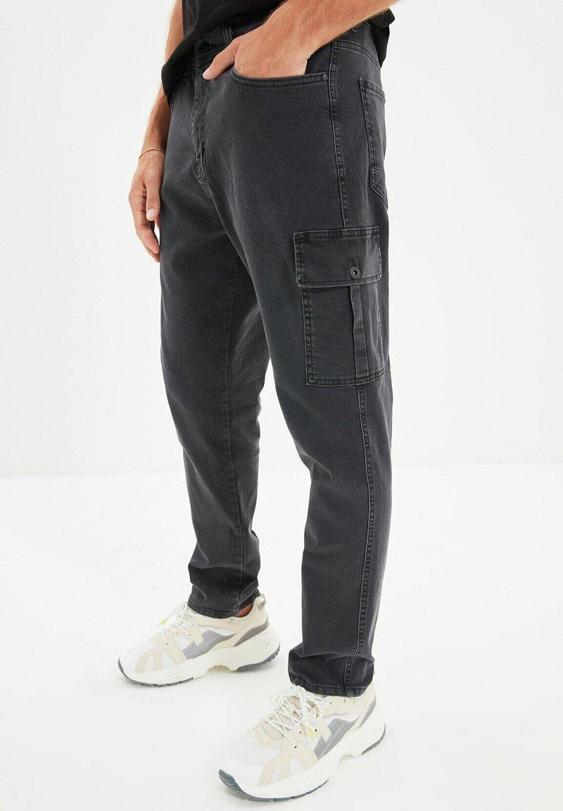 Trendyol - Pantalon cargo - grey