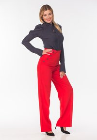 Diyas London - CHERRY - Trousers - red - 4