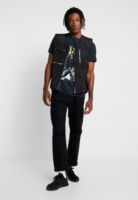 River Island - Print T-shirt - black - 1