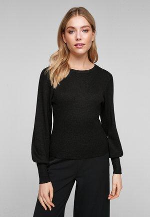 Pullover - black melange