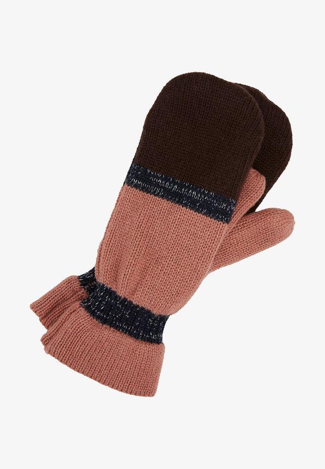 BLOCKIE EMERALD MITTENS - Rękawiczki z jednym palcem - desert sand