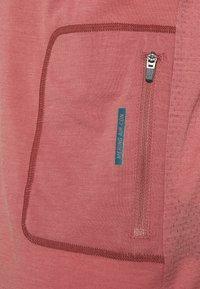 Mons Royale - REDWOOD ENDURO - Triko spotiskem - deep teal/pink clay - 2