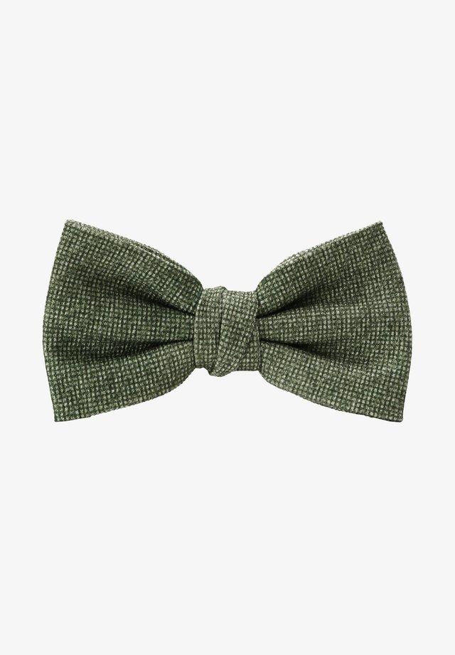 Vlinderdas - green