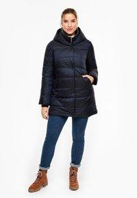 Triangle - MIT KAPUZE - Winter coat - navy - 1