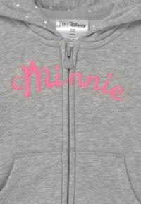 GAP - TODDLER GIRL MINNIE MOUSE - veste en sweat zippée - mottled light grey - 2