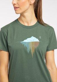 Haglöfs - Print T-shirt - fjell green - 3