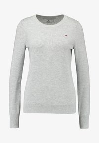 Hollister Co. - ICON CREW - Sweter - grey - 3