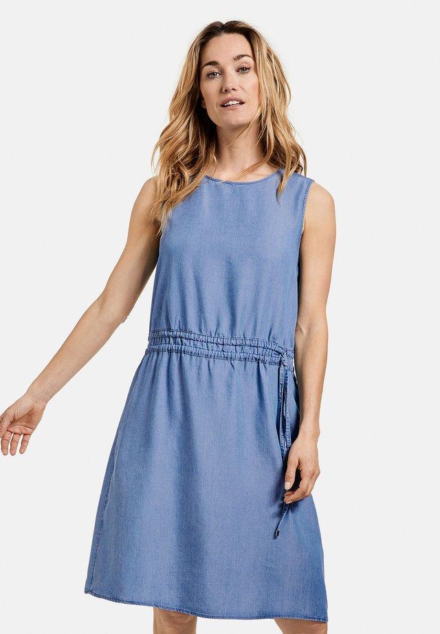Denim dress - blau denim