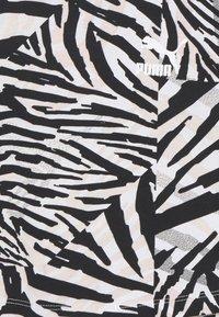 Puma - CLASSICS SAFARI TEE - Triko spotiskem - white - 2