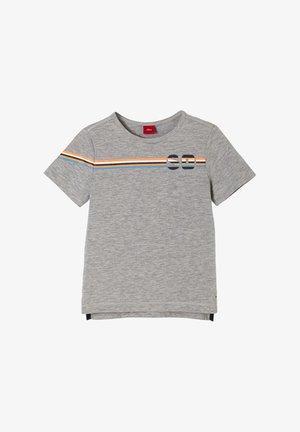 MIT LABEL-PRINT - Print T-shirt - grey placed print
