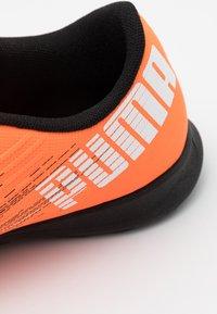 Puma - ULTRA 4.1 TT JR UNISEX - Astro turf trainers - shocking orange/black - 5