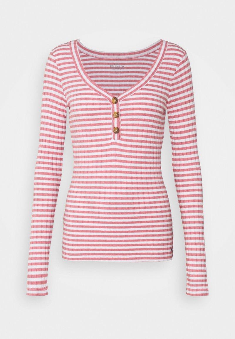 Hollister Co. - Long sleeved top - pink stripe