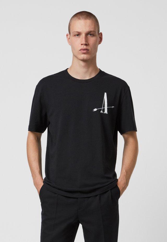 TARGET  - T-shirt imprimé - black