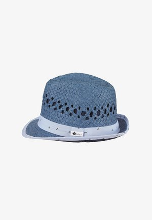 MINI STROHHUT - Hat - jeansblau