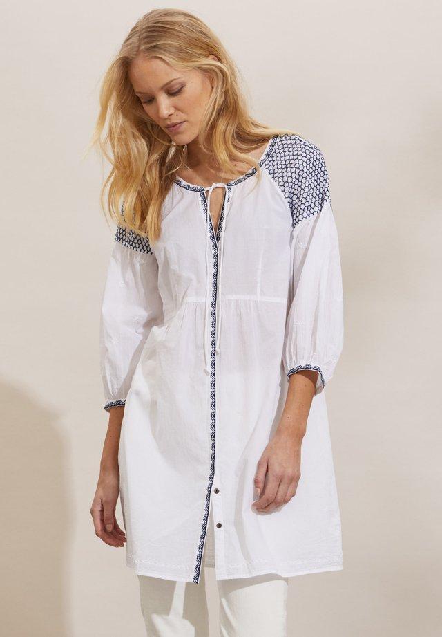 JILL - Abito a camicia - bright white