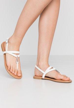 HOOPER - Sandaler m/ tåsplit - white