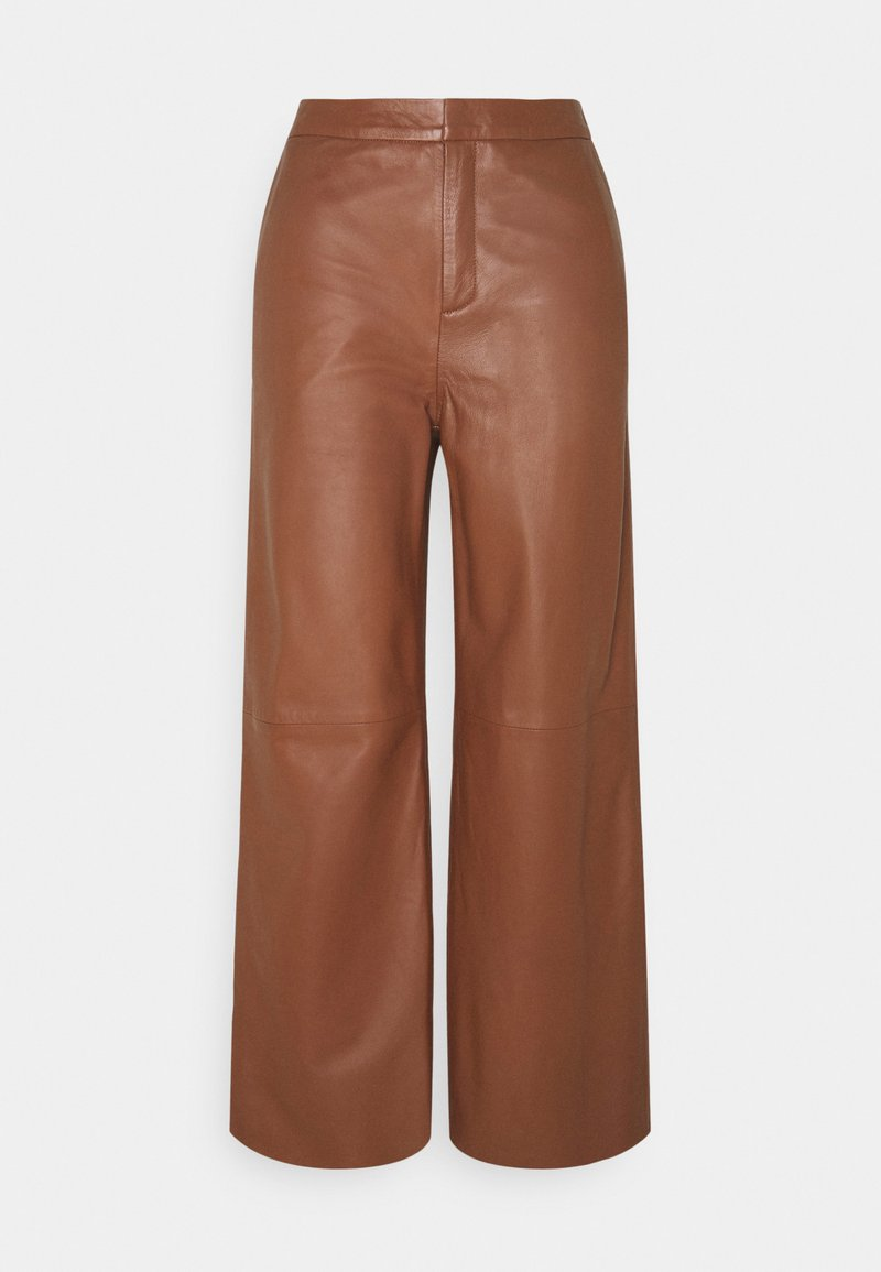 Part Two - ELAH - Leather trousers - chocolate glaze