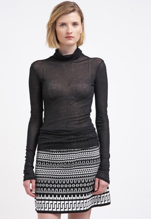 MASSACHUSETTS TURTLE NECK - Long sleeved top - noir