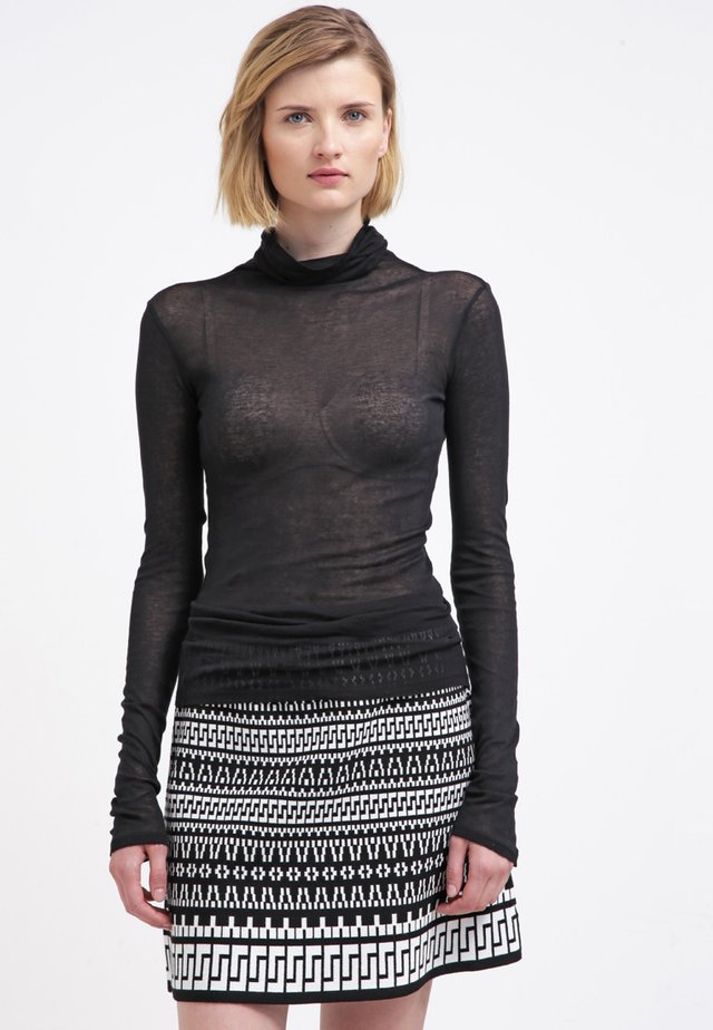 MASSACHUSETTS TURTLE NECK - Langærmede T-shirts - noir