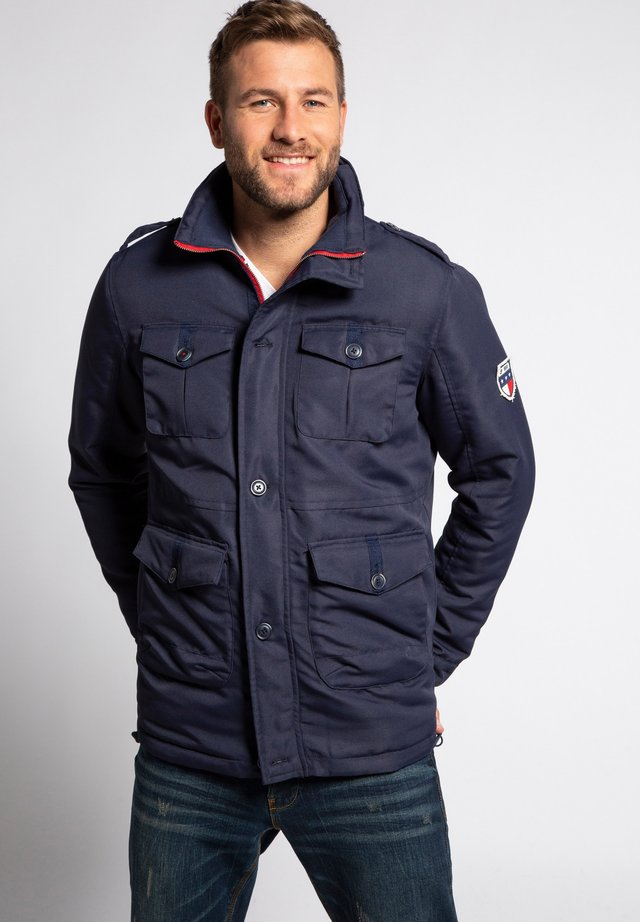 Outdoor jacket - bleu marine foncé