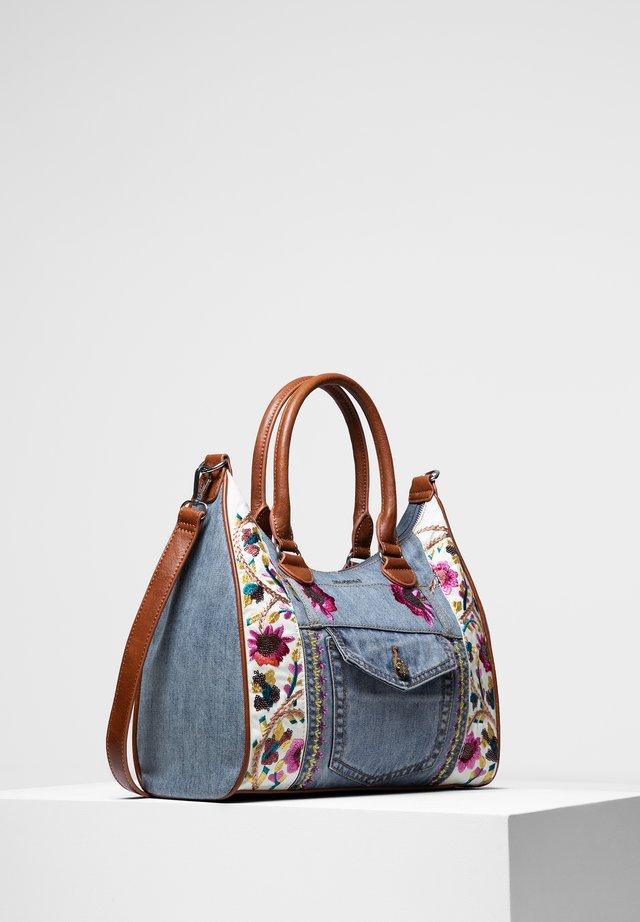 FLOWERS - Handbag - blue