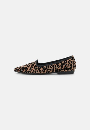 Slippers - linx brown